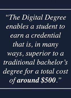 Digital Degree Credential Quote